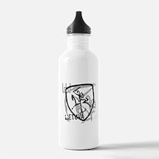 Distressed Vytis and Lietuva Water Bottle