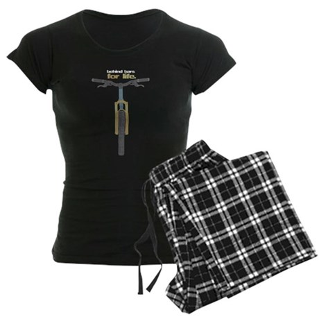 Behind Bars For Life Women's Dark Pajamas