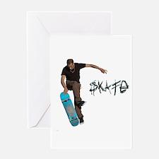 Skate Fakie Greeting Card