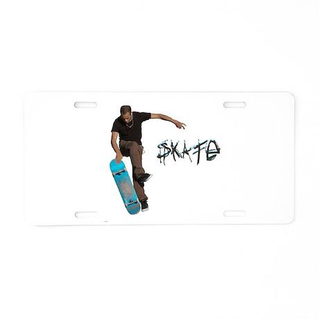 Skate Fakie Aluminum License Plate by BensSkateShop