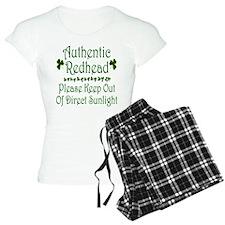 Authentic Redhead Pajamas