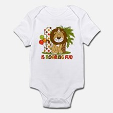 Cute Lion 1st Birthday Infant Bodysuit