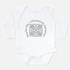 I Married An Irishwoman Long Sleeve Infant Bodysui