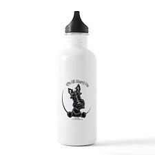 Black Scottie IAAM Water Bottle