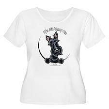 Black Scottie IAAM T-Shirt
