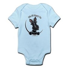 Black Scottie IAAM Infant Bodysuit