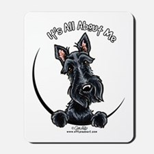 Black Scottie IAAM Mousepad