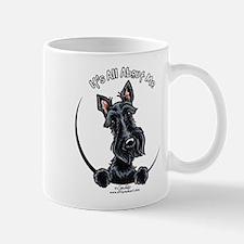 Black Scottie IAAM Mug