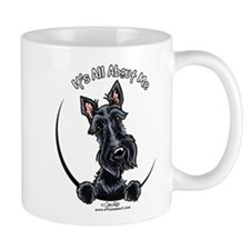 Black Scottie IAAM Mug