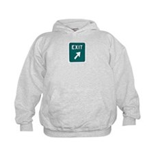 New Jersey Turnpike - Exit Si Hoodie