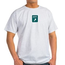 New Jersey Turnpike - Exit Si Ash Grey T-Shirt