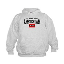 I'd Rather Be In Amsterdam Hoodie