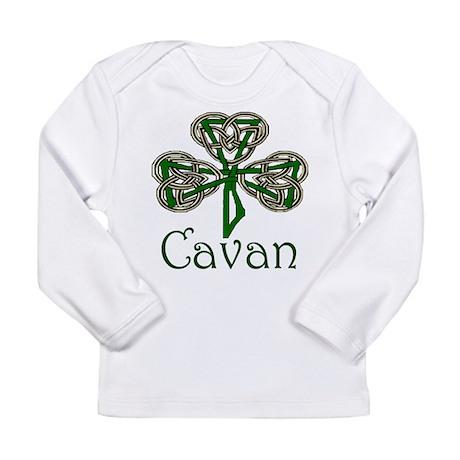 Cavan Shamrock Long Sleeve Infant T-Shirt