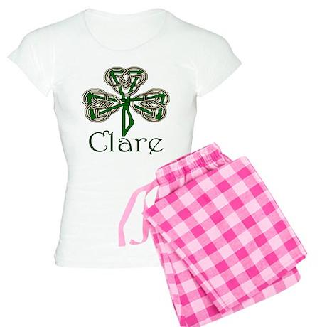 Clare Shamrock Women's Light Pajamas
