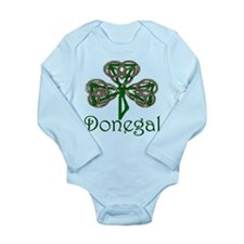 Donegal Shamrock Long Sleeve Infant Bodysuit