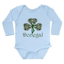 Donegal Shamrock Onesie Romper Suit