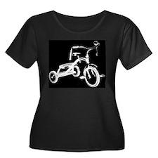 Retro Black Tricycle T