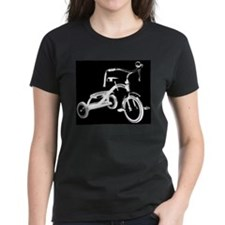 Retro Black Tricycle Tee