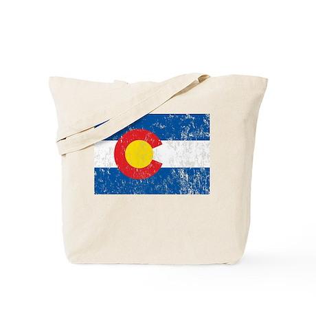 Colorado Vintage Tote Bag