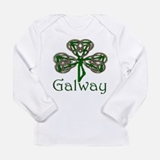 Galway Shamrock Long Sleeve Infant T-Shirt