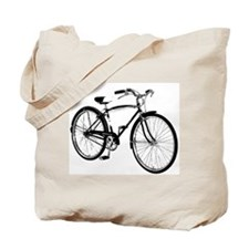 Retro Cruiser Bike Tote Bag