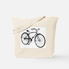 Retro Cruiser Bike Tote Bag