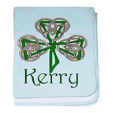 Kerry Shamrock baby blanket
