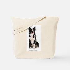 Cute Dog food bowl Tote Bag