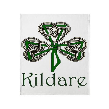 Kildare Shamrock Throw Blanket