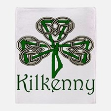 Kilkenny Shamrock Throw Blanket
