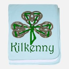 Kilkenny Shamrock baby blanket