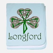 Longford Shamrock baby blanket