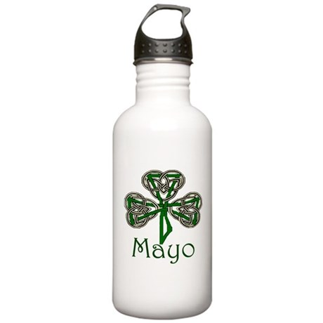 Mayo Shamrock Stainless Water Bottle 1.0L
