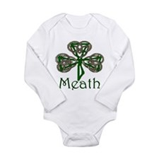 Meath Shamrock Long Sleeve Infant Bodysuit