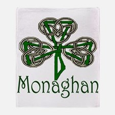 Monaghan Shamrock Throw Blanket