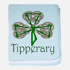 Tipperary Shamrock baby blanket