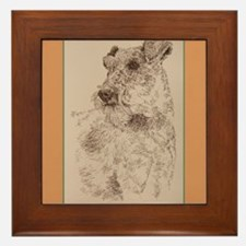 Irish Terrier Framed Tile