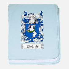 Cleland baby blanket