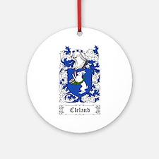 Cleland Ornament (Round)