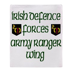 Irish Special Forces Throw Blanket