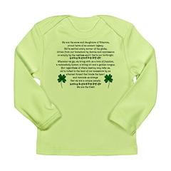 We Are the Irish Long Sleeve Infant T-Shirt