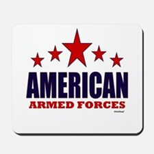 American Armed Forces Mousepad