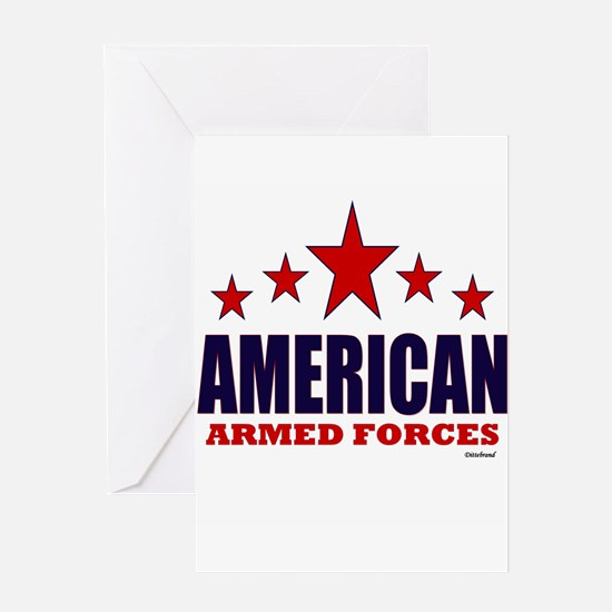 American Armed Forces Greeting Card