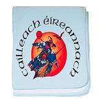 Irish Witch (Gaelic) baby blanket