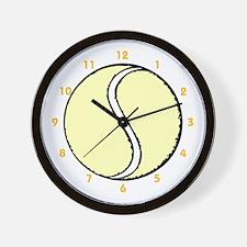 """Tennis Ball"" Wall Clock"