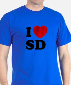 I Heart SD Color T-Shirt