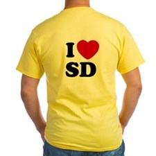 Two Sided I Heart SD T