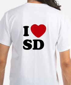 Two Sided I Heart SD Shirt