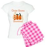 Gaelic Halloween Boo! Women's Light Pajamas