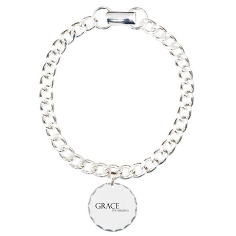 Black Grace It's Amazing Charm Bracelet, One Charm